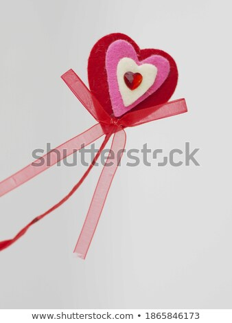Valentines Card and Heart Trinkets Stock photo © frannyanne