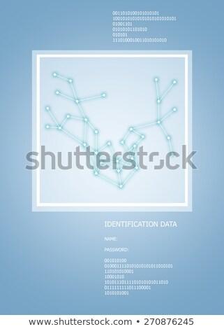 аннотация пространстве небольшой линия Сток-фото © cherezoff