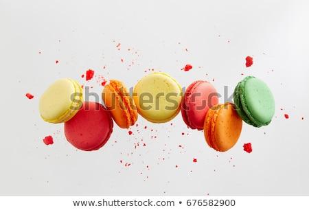 Diverso sapori colori macarons tradizionale francese Foto d'archivio © amok