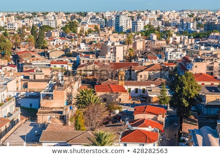 Stad Cyprus berg reizen Stockfoto © Kirill_M