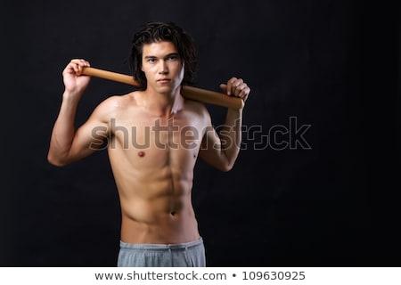 Jovem asiático topless homem negócio empresário Foto stock © Paha_L