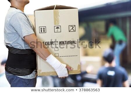Stock fotó: Férfi · visel · támogató · csukló · kéz · közelkép