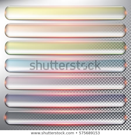 Seven orange rectangular tags Stock photo © ozgur