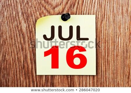 16th july stock photo © oakozhan
