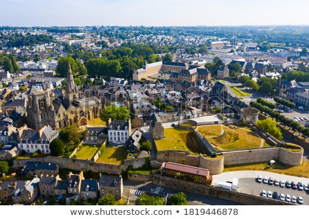 settlement in Brittany Stock photo © prill