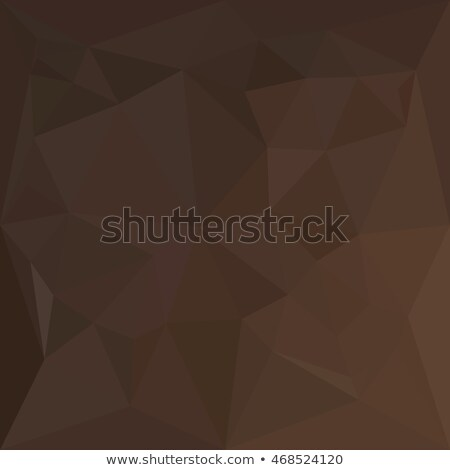 Dark Puce Brown Abstract Low Polygon Background Stock photo © patrimonio