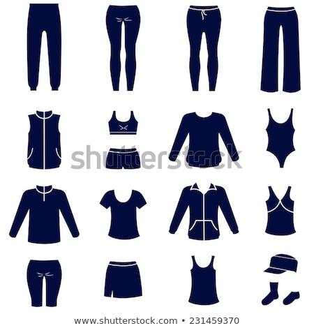 Mode différent icônes pants vecteur illustration Photo stock © Margolana