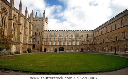 új főiskola Oxford kilátás bent Anglia Stock fotó © chrisdorney