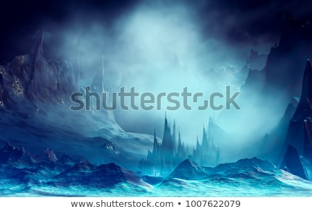 Blue fantasy background Stock photo © Adigrosu