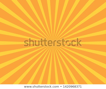 glowing green and orange stripes background stock photo © saicle