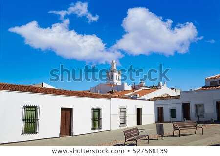 villafranca de barros in extremadura spain stock photo © lunamarina