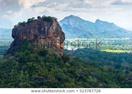 sigiriya rock stock photo © zambezi