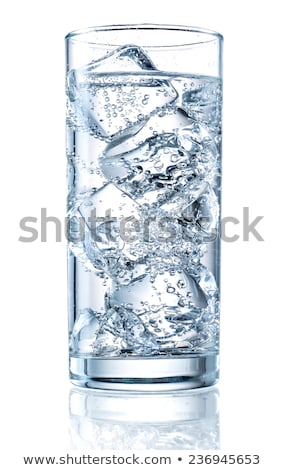Ice in a glass Stock photo © Digifoodstock