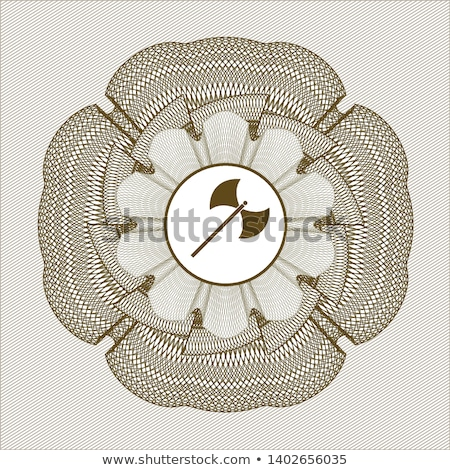 acél · balta · izolált · fehér · fegyverek · páncél - stock fotó © konturvid