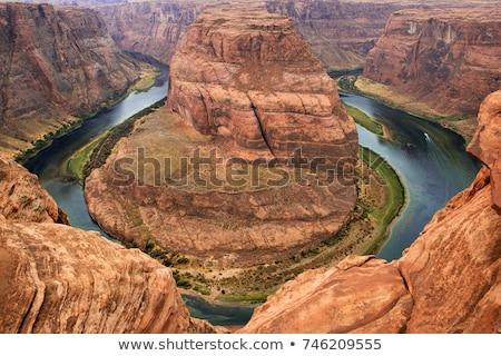 Desfiladeiro paisagem deserto beleza Foto stock © OleksandrO