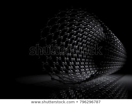 modelo · grafito · molecular · estructura · verde - foto stock © tussik
