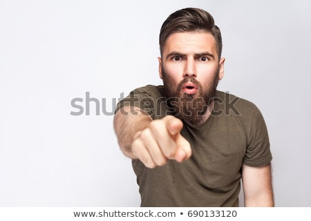 Hey you, Look at this Stock photo © iko
