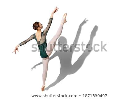 dansçı · atlama · genç · beton · gibi - stok fotoğraf © gravityimaging