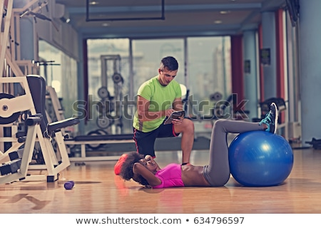 Stock photo: Perosnal Trainer