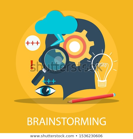Concept Of Brainstorming Stock photo © Lightsource