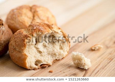 two rustic bread rolls Stock photo © Digifoodstock