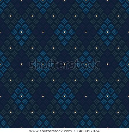 Vrouw papier patroon weefsel mensen handwerk Stockfoto © dolgachov