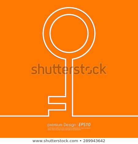 Keep It Simple Key. Stock photo © tashatuvango