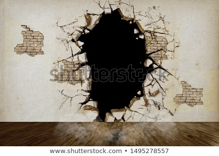 Yaşamak hizmet beyaz tuğla duvar karalama simgeler Stok fotoğraf © tashatuvango