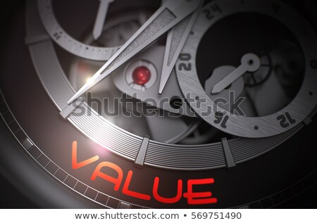 Excellence - Inscription on Pocket Watch. 3D. Stock photo © tashatuvango