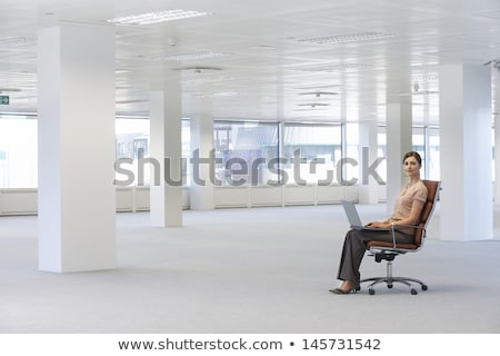 Confident woman in empty office Stock photo © IS2