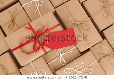 Stok fotoğraf: Etiket · beyaz · yalıtılmış · hediye · bilet