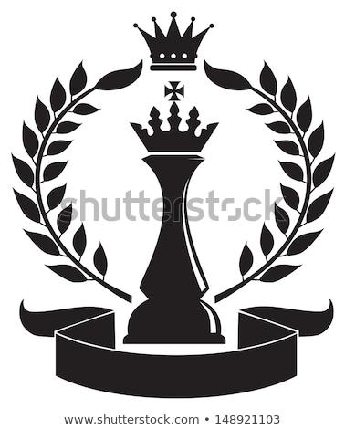Cartoon rey del ajedrez idea ilustración rey Foto stock © cthoman