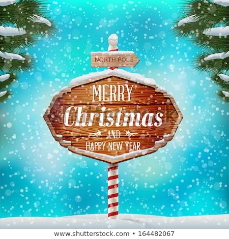 gezellig · christmas · home · mooie · Rood · glas - stockfoto © nito