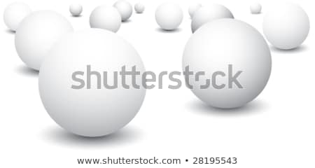 ping pong ball and paddle icon vector Stock photo © blaskorizov