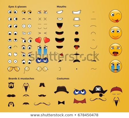 próprio · cena · ilustração · sorrir · crianças - foto stock © colematt