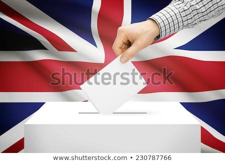 британский выборы стороны руки Великобритания Сток-фото © Lightsource