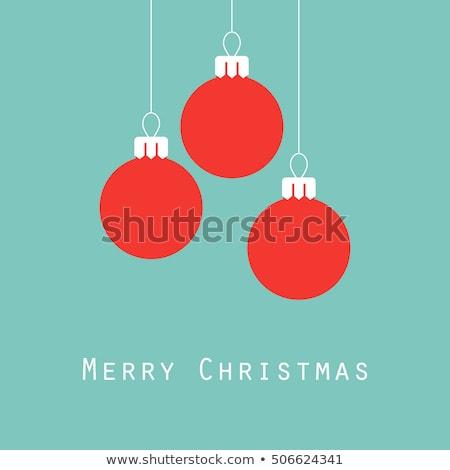 Vektor · Weihnachten · Vorlage · Bericht · Zeilen - stock foto © smoki