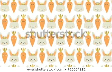 húsvét · végtelen · minta · négy · különböző · színek · vektor - stock fotó © artspace