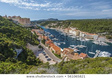 表示 コルシカ島 フランス ポート 有名な 砦 ストックフォト © nito