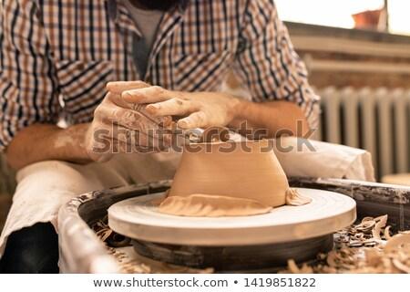 Flattening bottom of bowl Stock photo © pressmaster