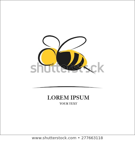 Bumble Honey Bee Bumblebee Cartoon Character Stock photo © Krisdog
