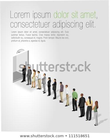 事業者 立って 方向 顔 幸せ デザイン ストックフォト © ra2studio