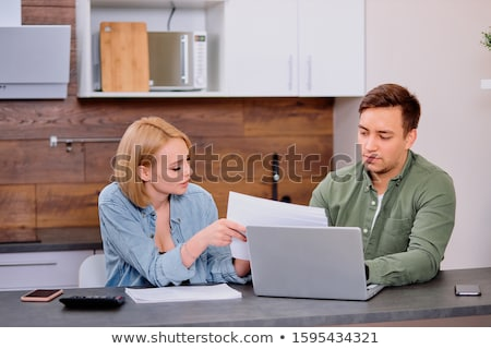 Business man or accountant working Financial investment on calcu Stock photo © Freedomz