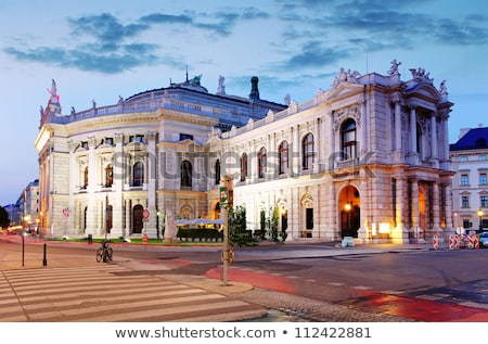 Stockfoto: Wenen · Oostenrijk · theater · een · belangrijk · taal