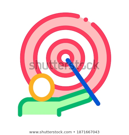 schilder · menselijke · talent · icon · vector · dun - stockfoto © pikepicture