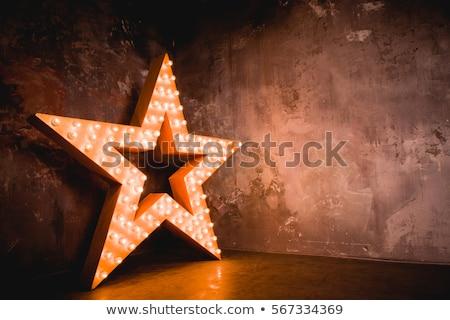 Zdjęcia stock: Wesoły · christmas · neon · czerwony