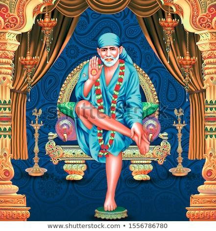 Colorido estatua dios indio templo Kuala Lumpur Foto stock © szefei