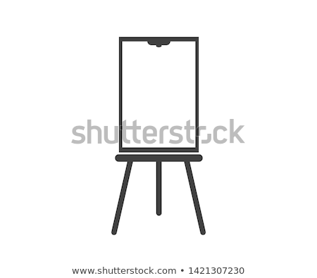 Flip chart and graph Stock photo © m_pavlov