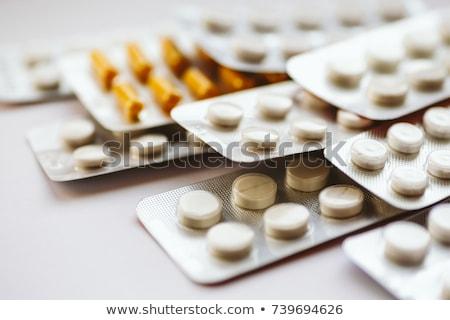 Garrafa analgésico drogas isolado branco Foto stock © cidepix