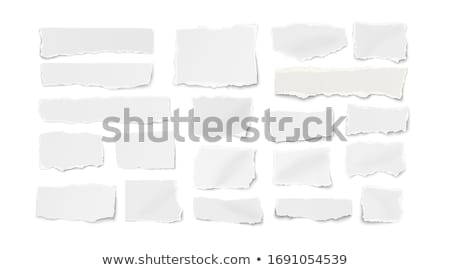 Tép papír körök terv háttér művészet Stock fotó © orson